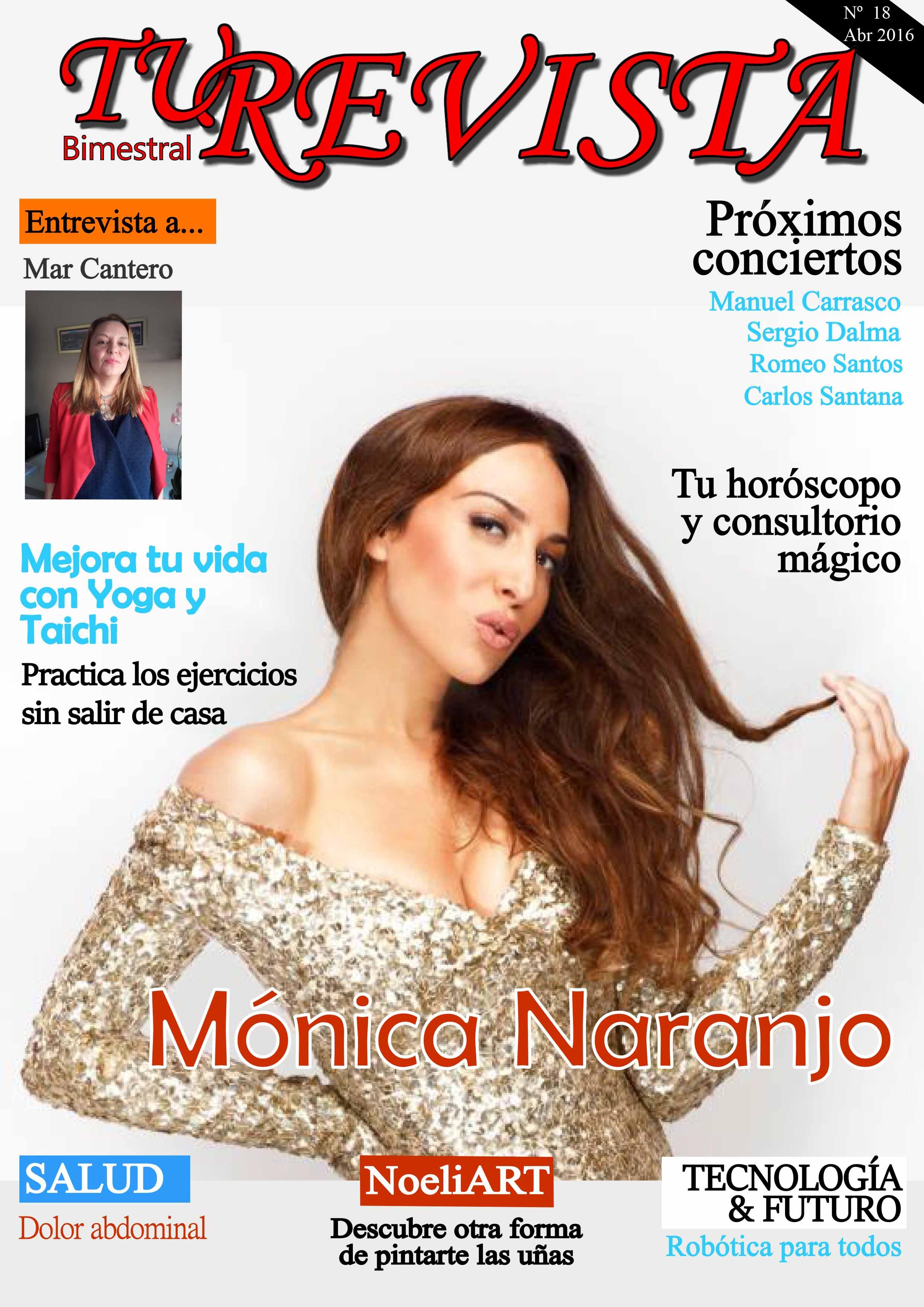 Conoce más sobre la vida de Mónica Naranjo.