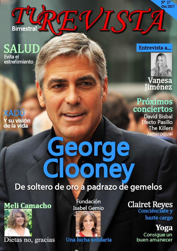 GEORGE CLOONEY de soltero de oro a padrazo de gemelos