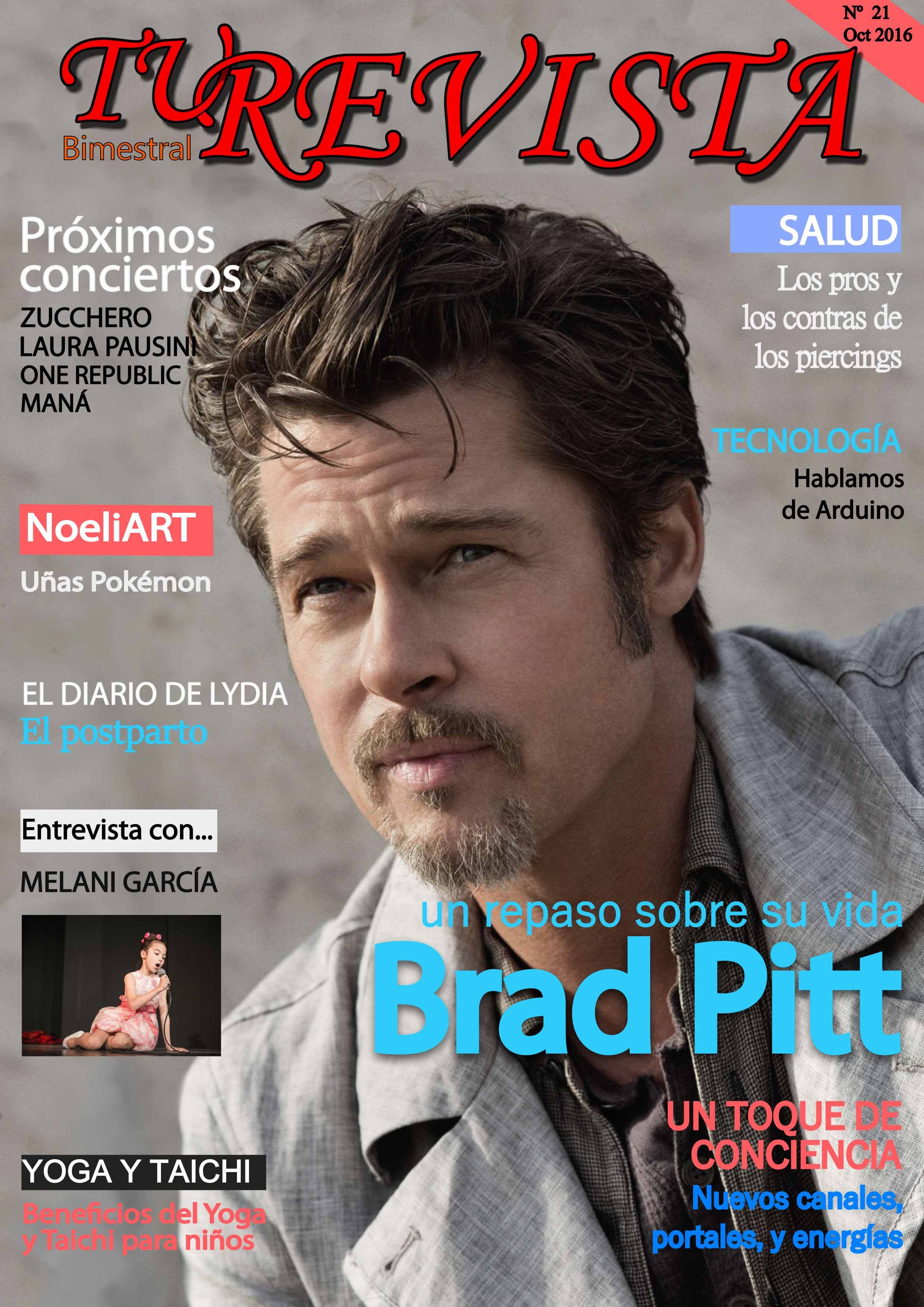 """Del éxito profesional de \""""Brad Pitt\"""", al divorcio con \""""Angelina Jolie\""""."""