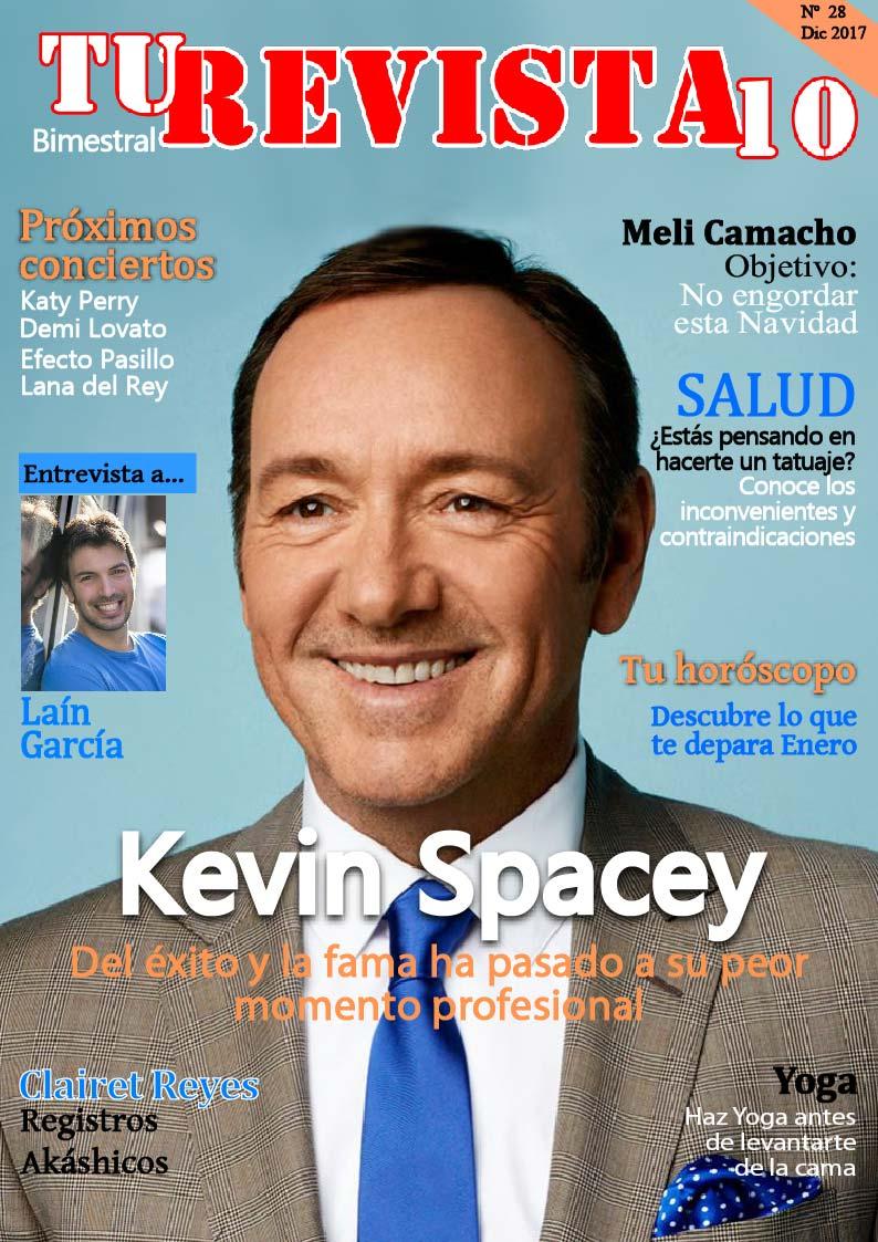 Kevin Spacey pasa de la fama y el éxito al peor momento de su vida.