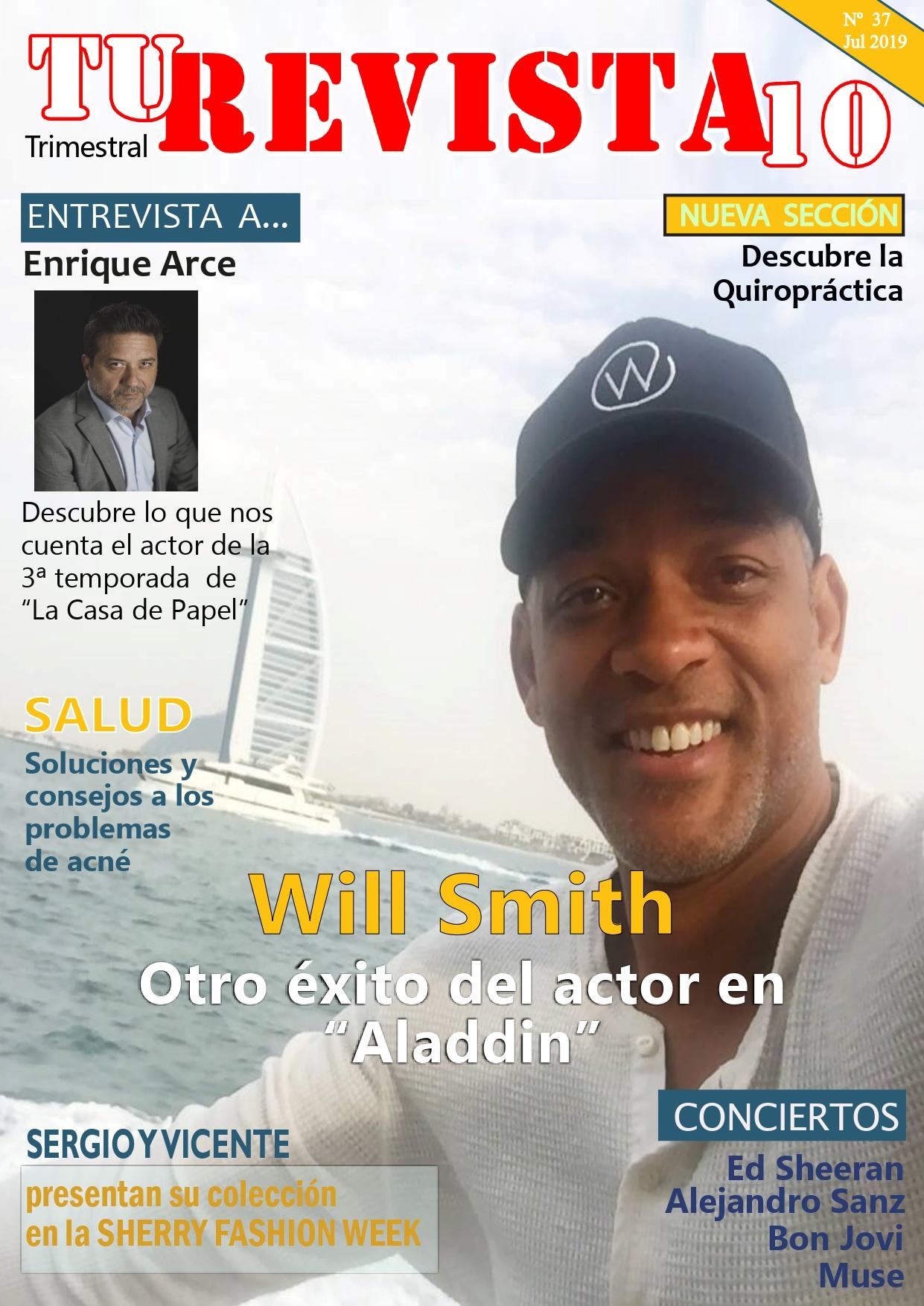 "WILL SMITH y del éxito de ""Aladdin"""